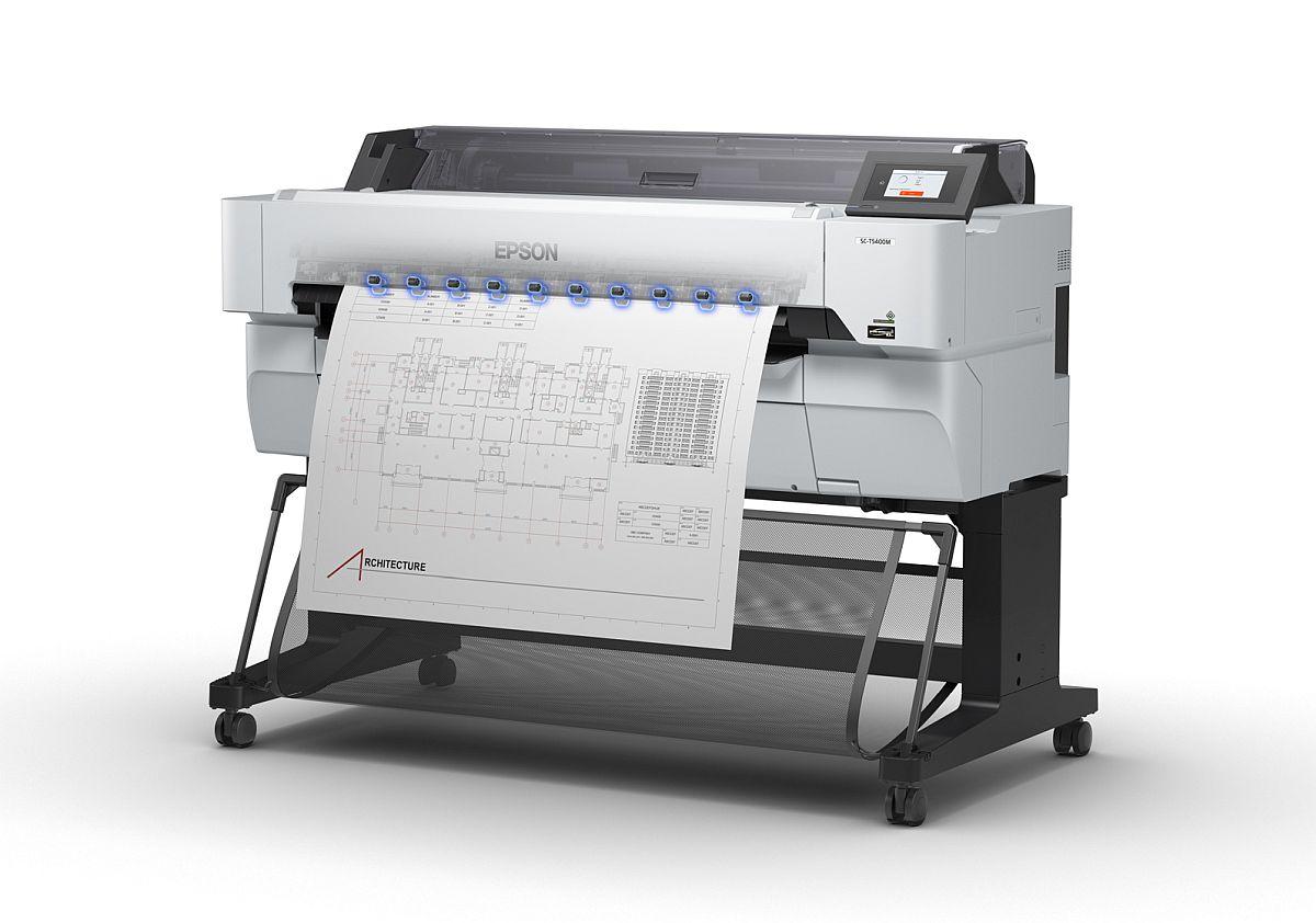 adelaparvu.com despre imprimante pentru arhitecti, designeri, ingineri, artisti, model Epson SC-T5400M (2)