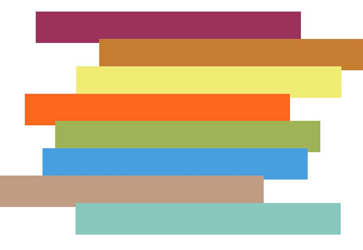 Foto mood board Ambiente. Paleta de culori este una vie, amintind deopotrivă despre tradiție, dar și înclinații artistice, care se regăsesc în folclorul multor națiuni.