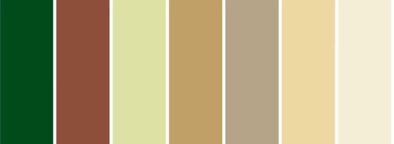 Foto Heimtextil. Paletă de culori potrivită Trendului Etic Natural.