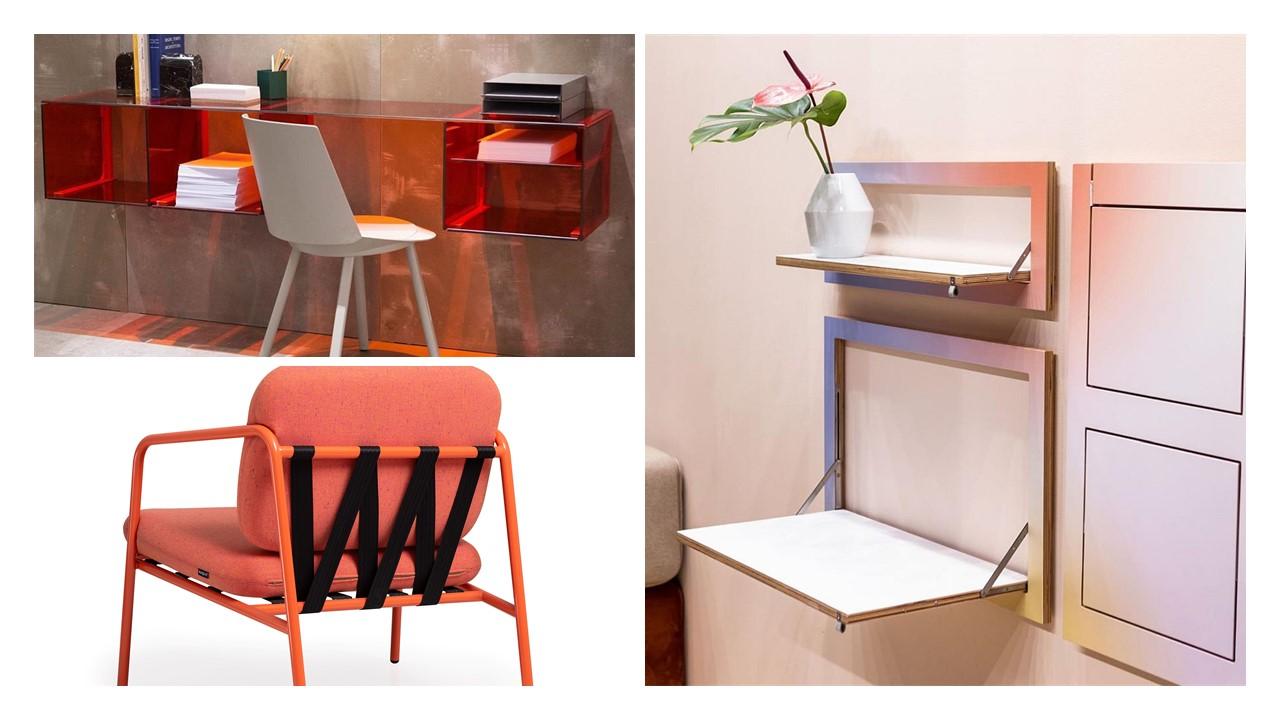 Mood board Trend Urban Smart. Piese de mobilier multifuncționale care pot fi adaptate în locuințele mici în funcție de necesități. Foto