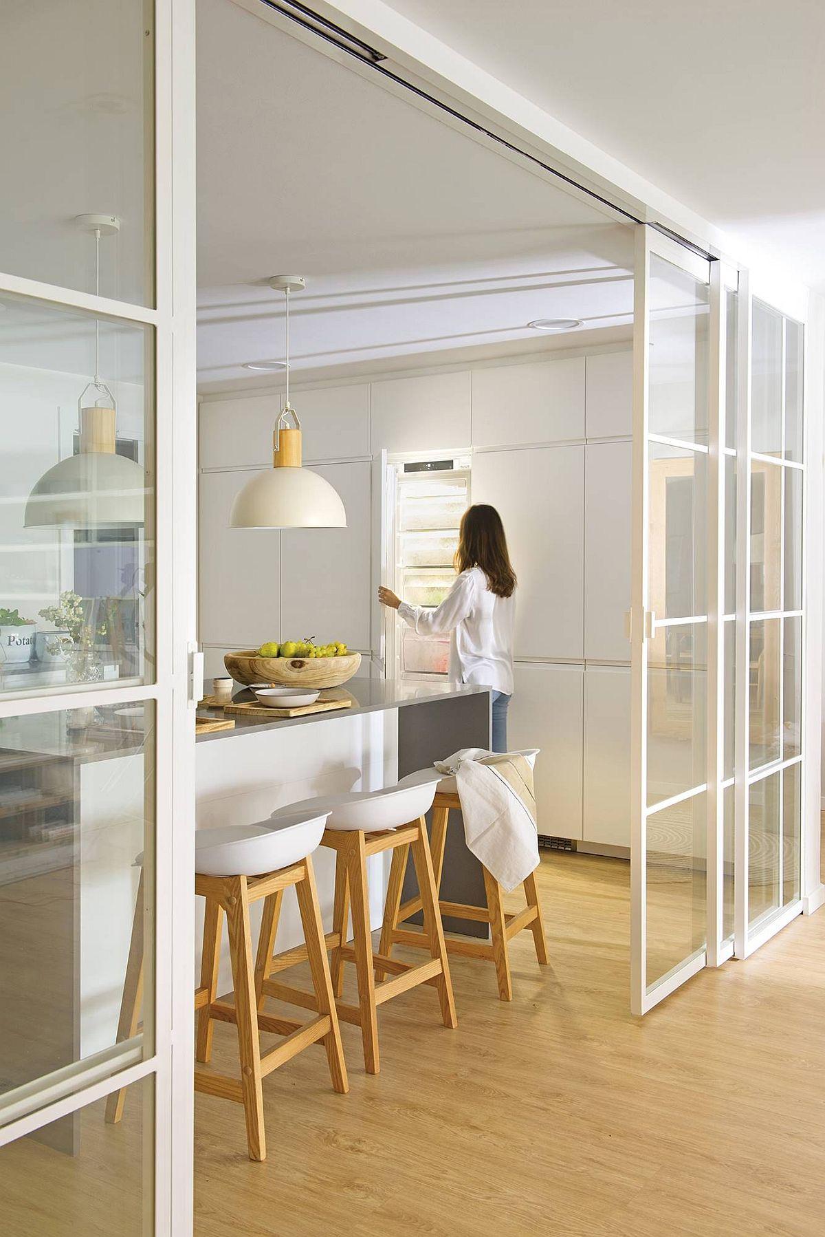 adelaparvu.com despre amenajare apartament luminos, 85 mp, design interior I Loft You Studio, Barcelona, Foto ElMueble, Stella Rotger (10)
