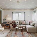 Multe dintre obiectele de mobilier și decorațiuni au fost comandate online.