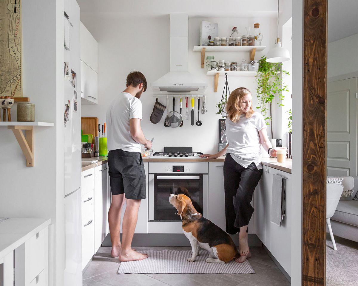 adelaparvu.com despre amenajare apartament 48 mp pentru familie, design Dima si Dasha Tretyakov, foto Uliana Grishina (2)