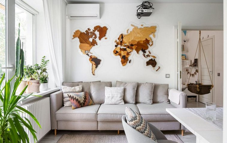 adelaparvu.com despre amenajare apartament 48 mp pentru familie, design Dima si Dasha Tretyakov, foto Uliana Grishina (7)