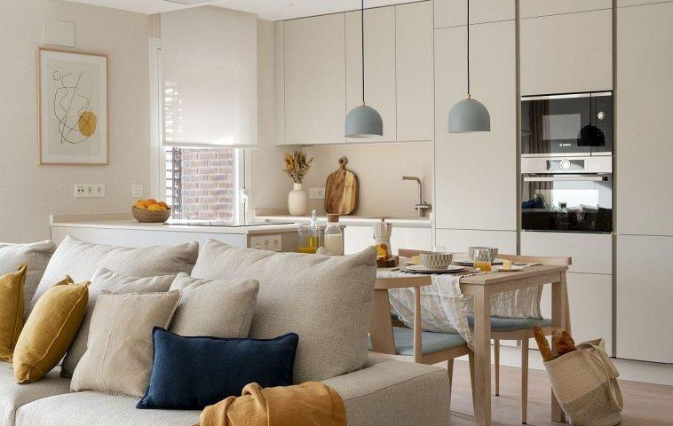adelaparvu.com despre apartament 60 mp modern si luminos, design IN56 Interiorismo, Foto Biderbost Photo (29)