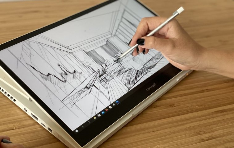 adelaparvu.com despre laptop pentru arhitecti, designeri, graficieni, artisti, laptop Acer ConceptD 3 Ezel (5)